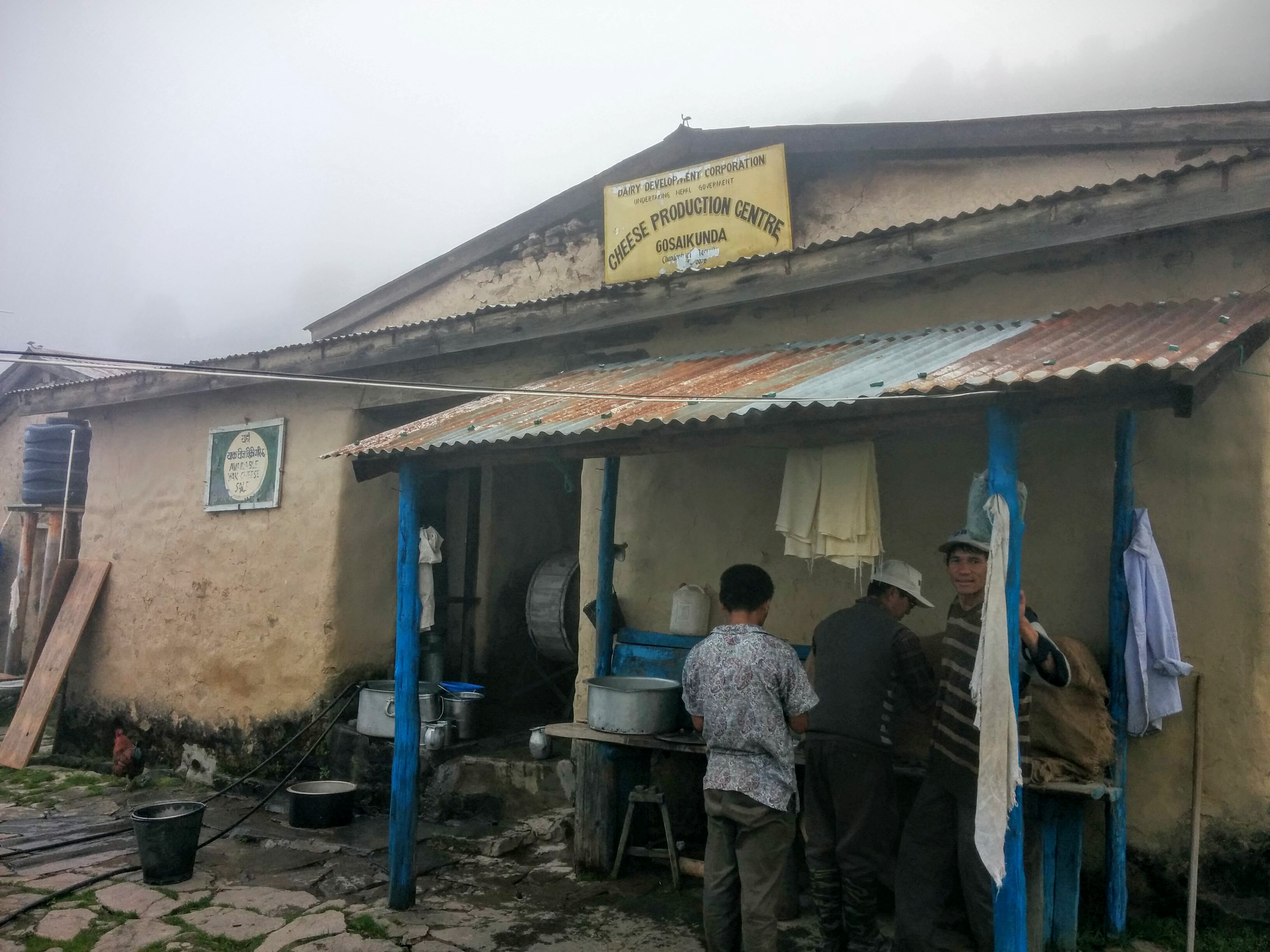Yak Cheese factory at 3300m!!!